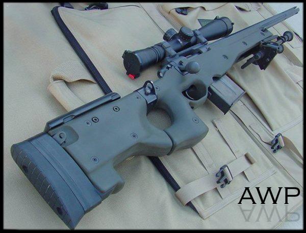 Снайперская Винтовка Arctic Warfare Police