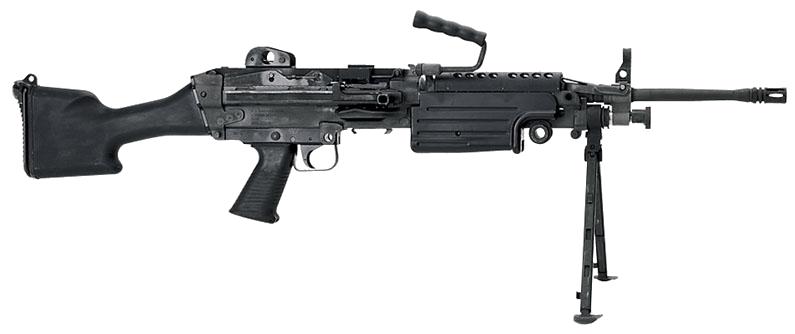 Пулемет minimi m249