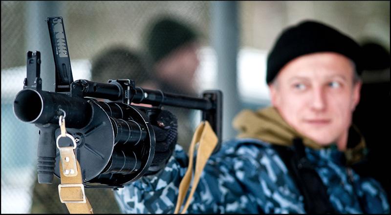 Гранатомет РГ-6 имеет