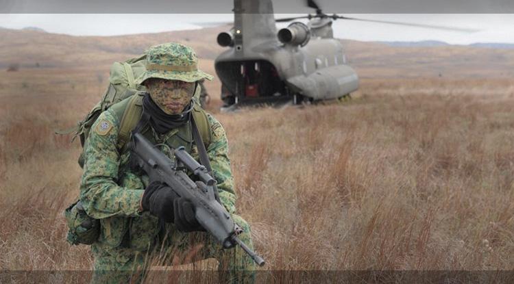Автомат | Штурмовая Винтовка SAR-21 » Оружие