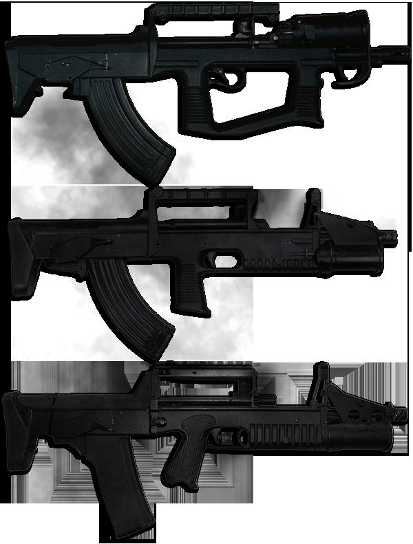 Автомат | Штурмовая Винтовка A-91 | A-91M » Оружие