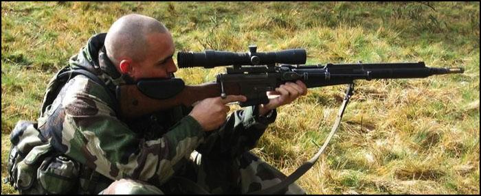 Cнайперская винтовка FR-F1 | FR-F2