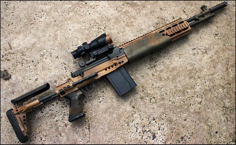 Снайперская винтовка M14 | M21 | Mk.14 Mod 0 » Оружие