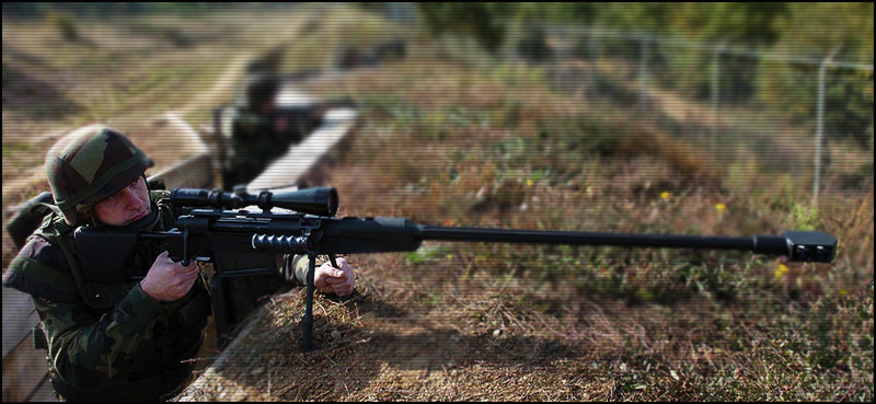 Снайперская Винтовка Crna Strela M-93