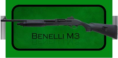 Гладкоствольное ружье |Дробовик Benelli M3