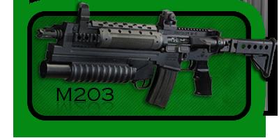 Гранатомет  M203