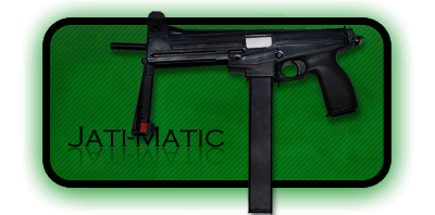 Пистолет-Пулемет Jati-Matic | GG-95 PDW