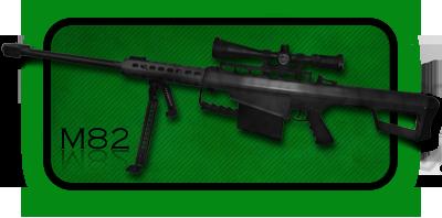 Снайперская Винтовка Barrett M82