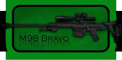 Снайперская Винтовка Barrett 98 Bravo