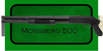 Гладкоствольное ружье   Дробовик Mossberg 500