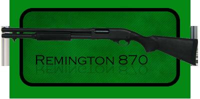 Гладкоствольное ружье   Дробовик Remington 870