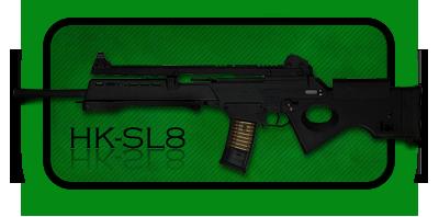 Снайперская Винтовка Heckler & Koch SL8 | SL9SD