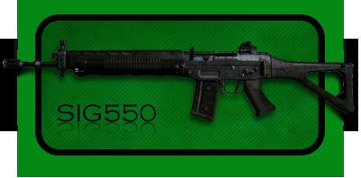 Автомат | Штурмовая Винтовка Sig 550